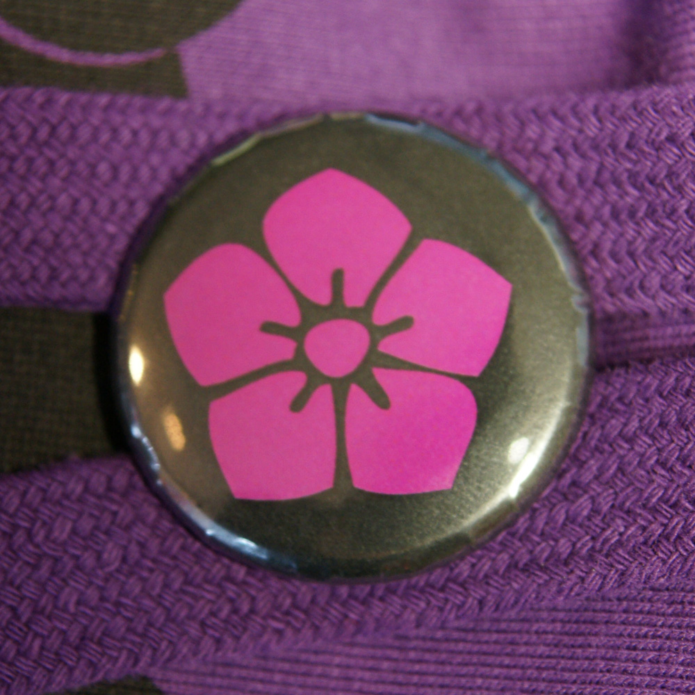 Button Hibiskus