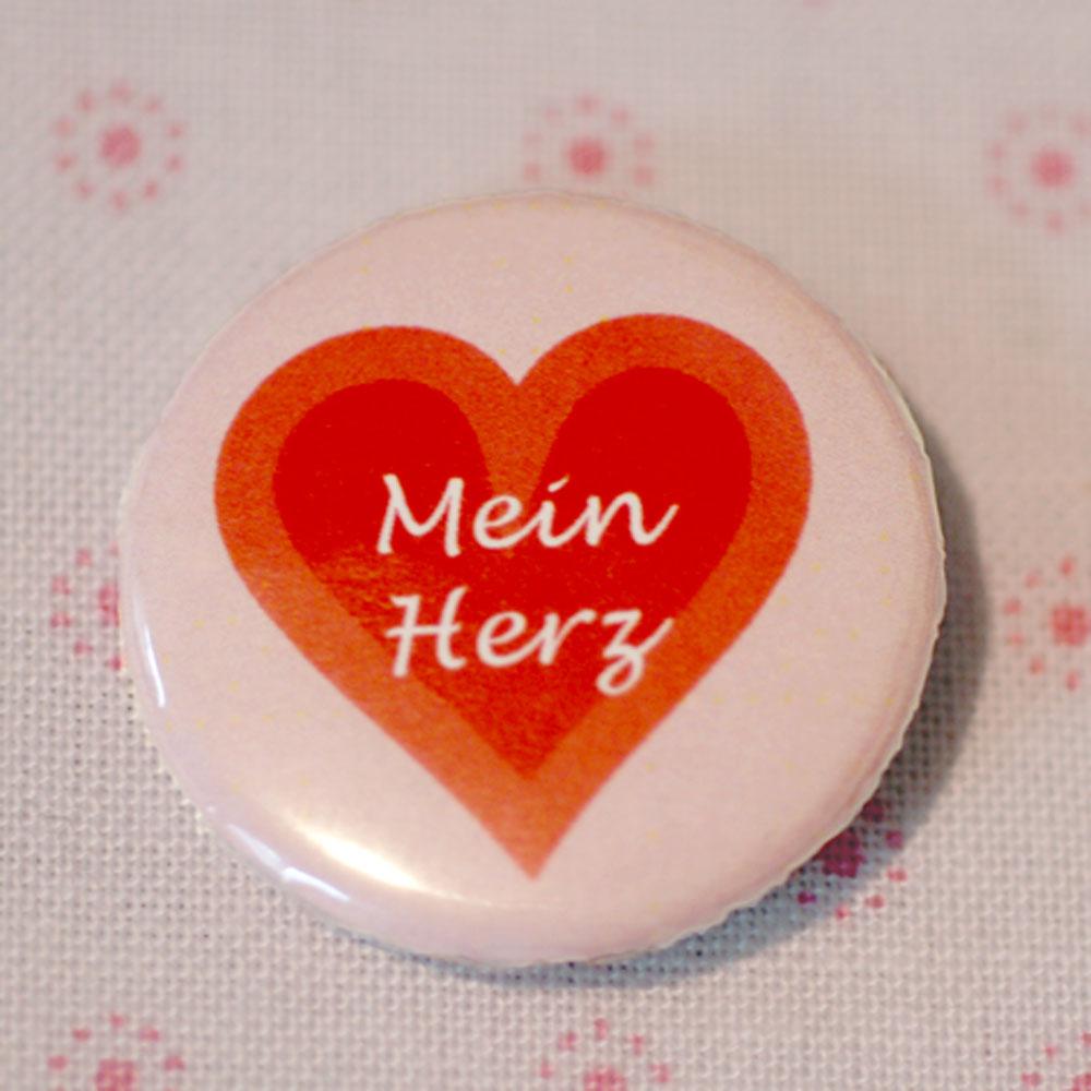 Button Mein Herz