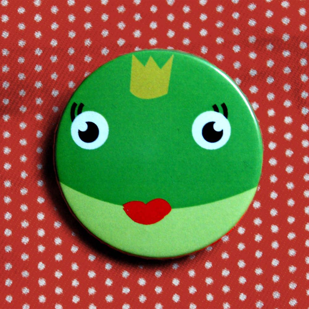 Button Prinzessin
