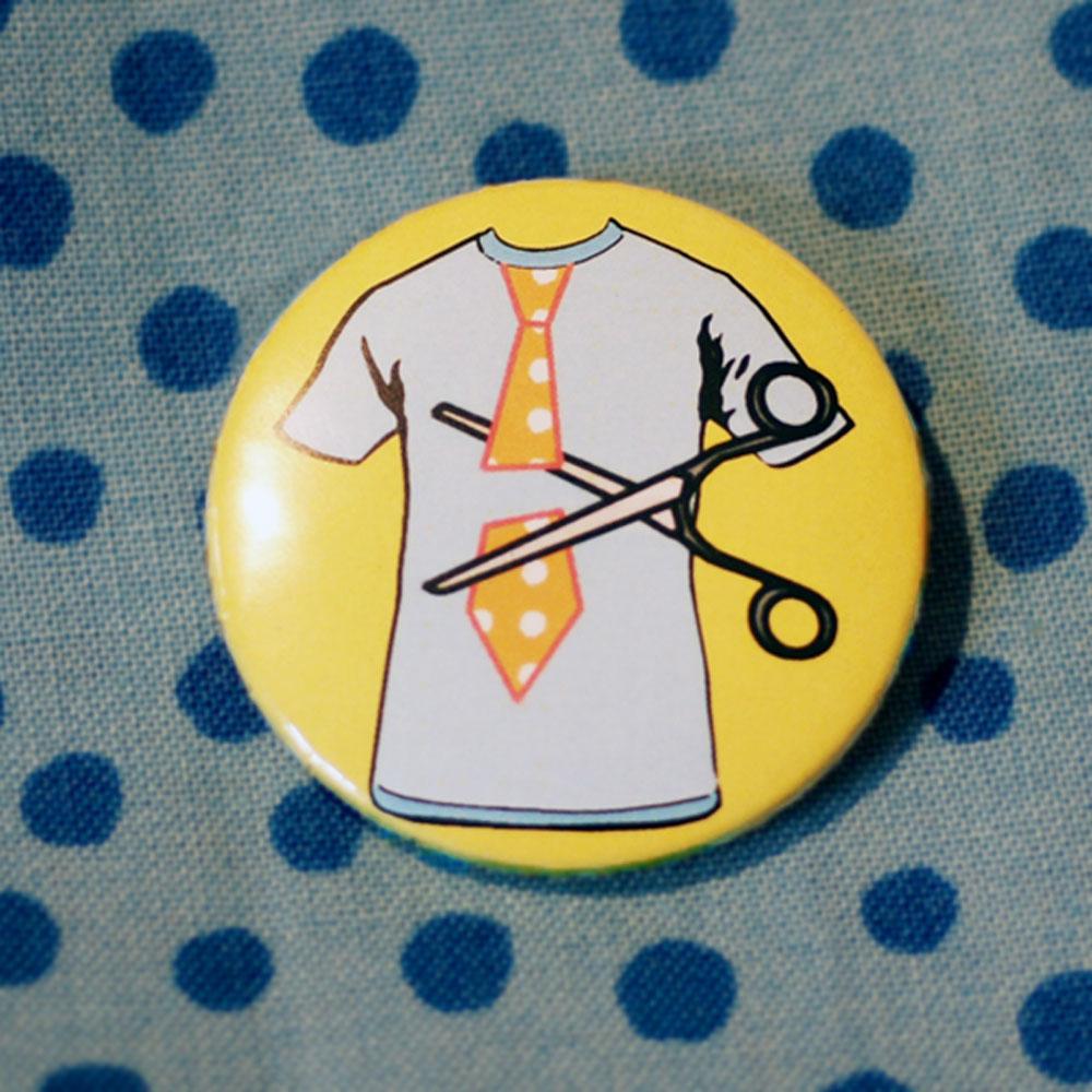 Button Krawatten-Abschnippler