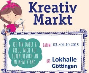 DaWanda Handgemacht-Kreativmarkt in der Göttinger LOKHALLE