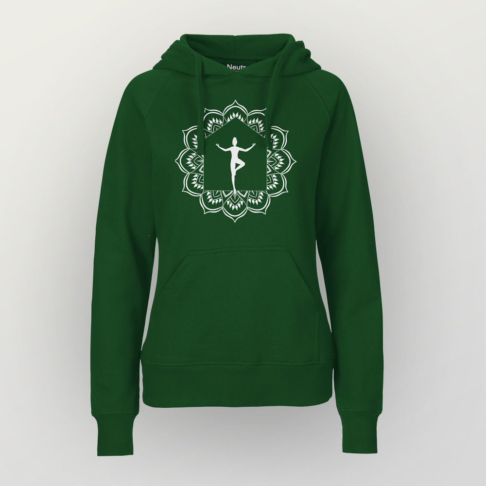 Frauen Hoody my home is my temple