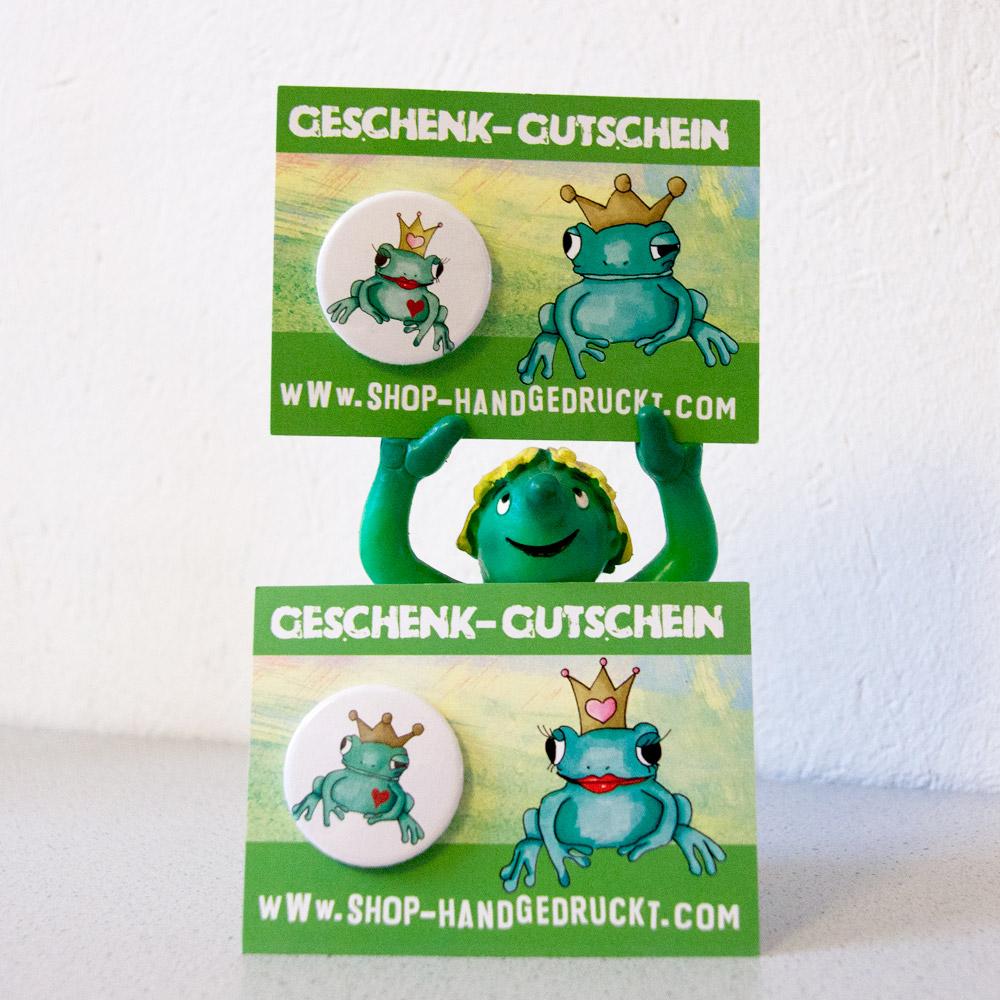 Gutschein Froschprinz / Froschprinzessin