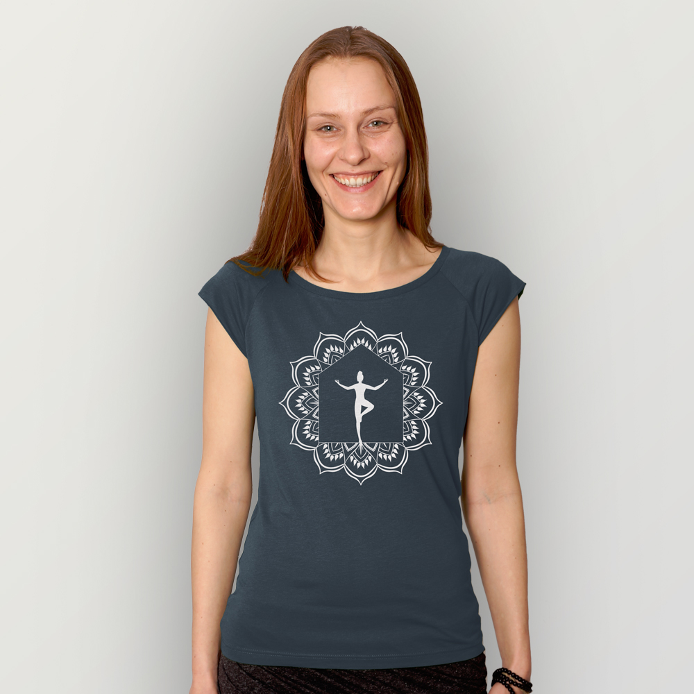 Frauen T-Shirt my home is my temple