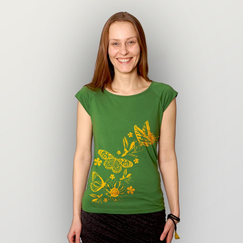 Frauen T-Shirt Frühlingsboten