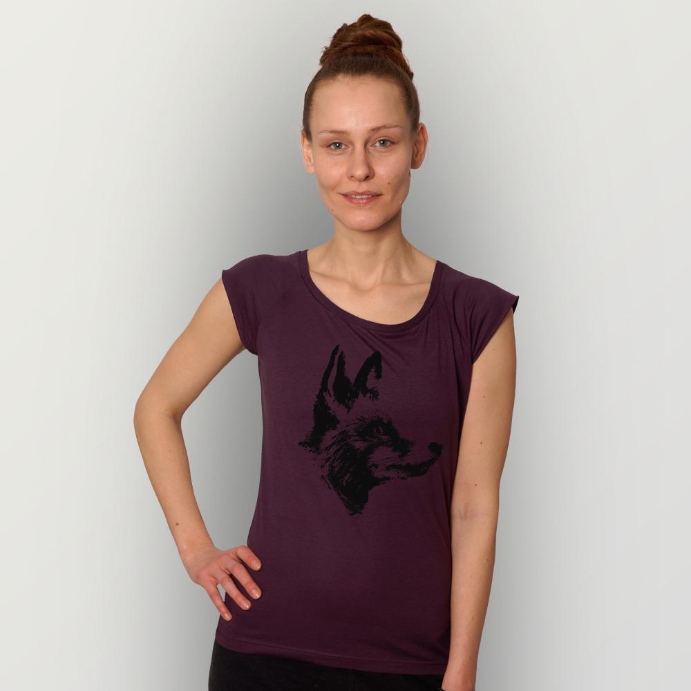 Frauen T-Shirt Fuchs