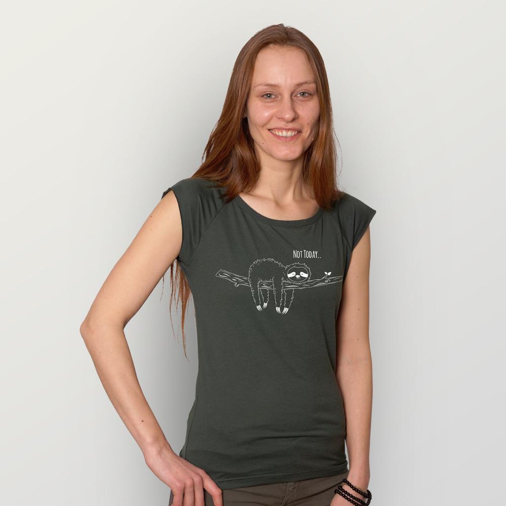 Frauen T-Shirt Not Today