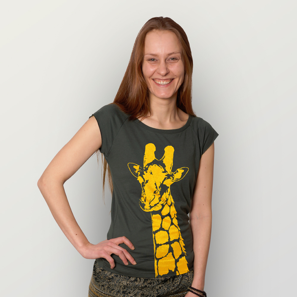 Frauen T-Shirt Stefanie la Giraffe