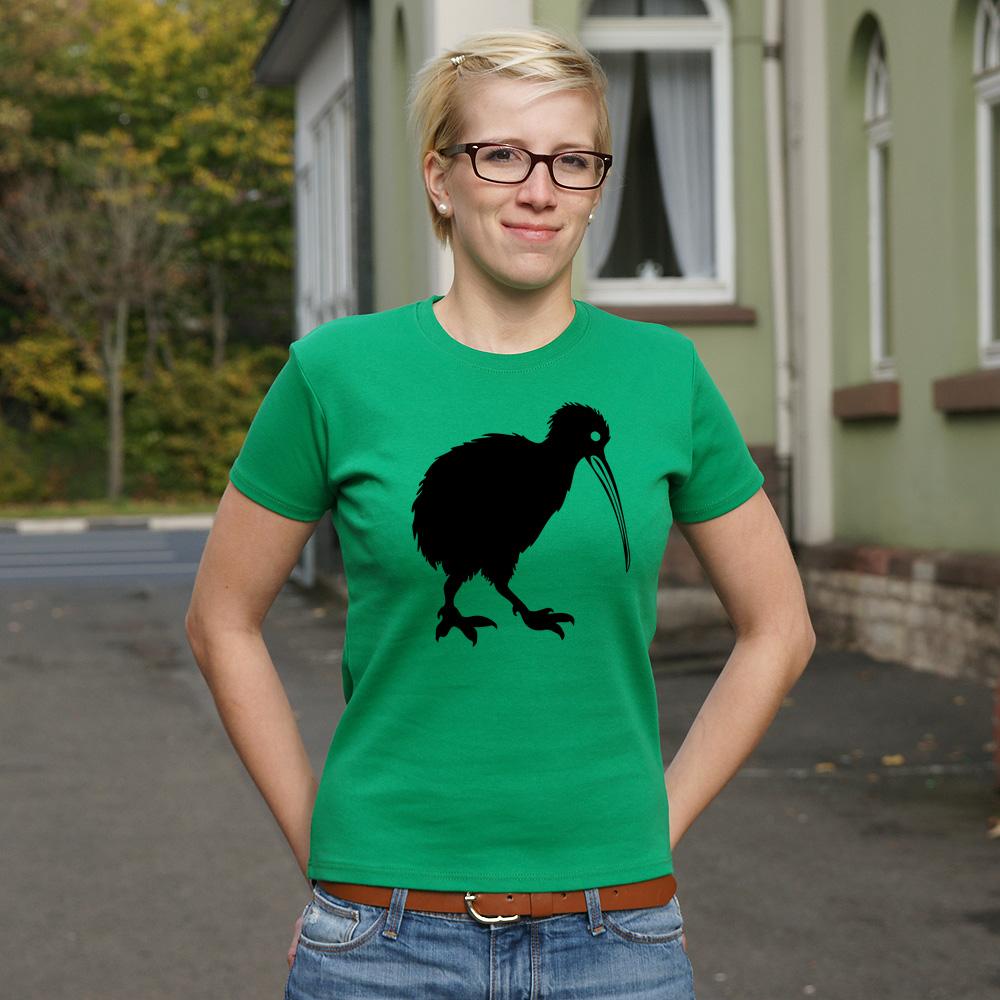 Frauen T-Shirt Kiwi