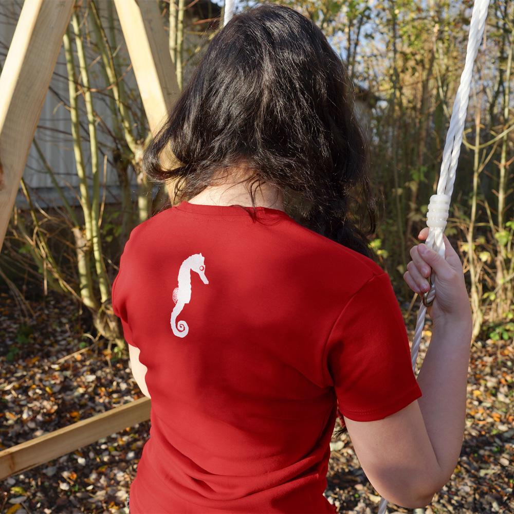 Frauen T-Shirt zack hitti zopp
