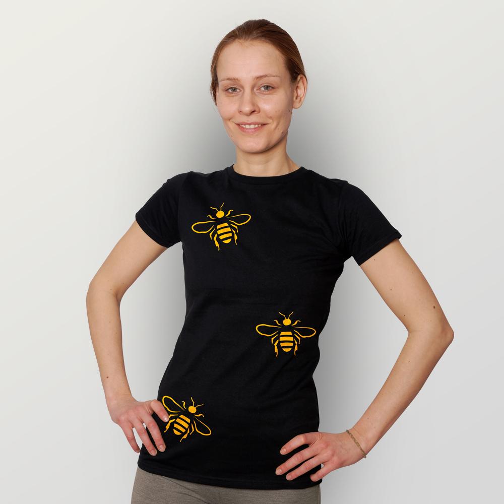Frauen T-Shirt Bienen