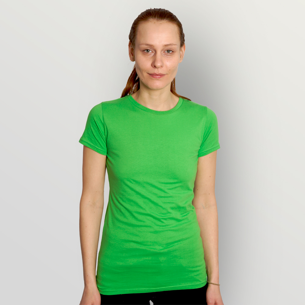 Frauen T-Shirt Unbedruckt
