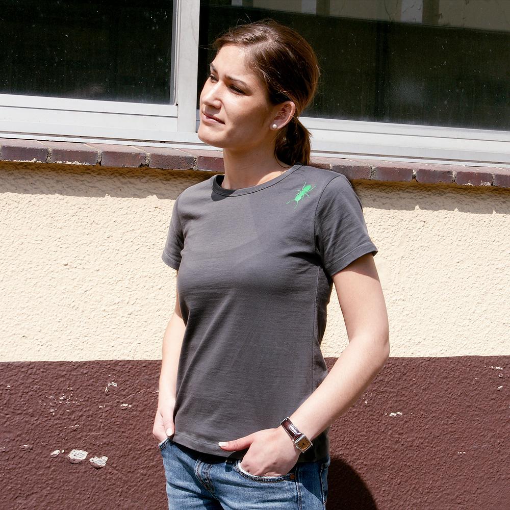 Frauen T-Shirt Eine Ameise