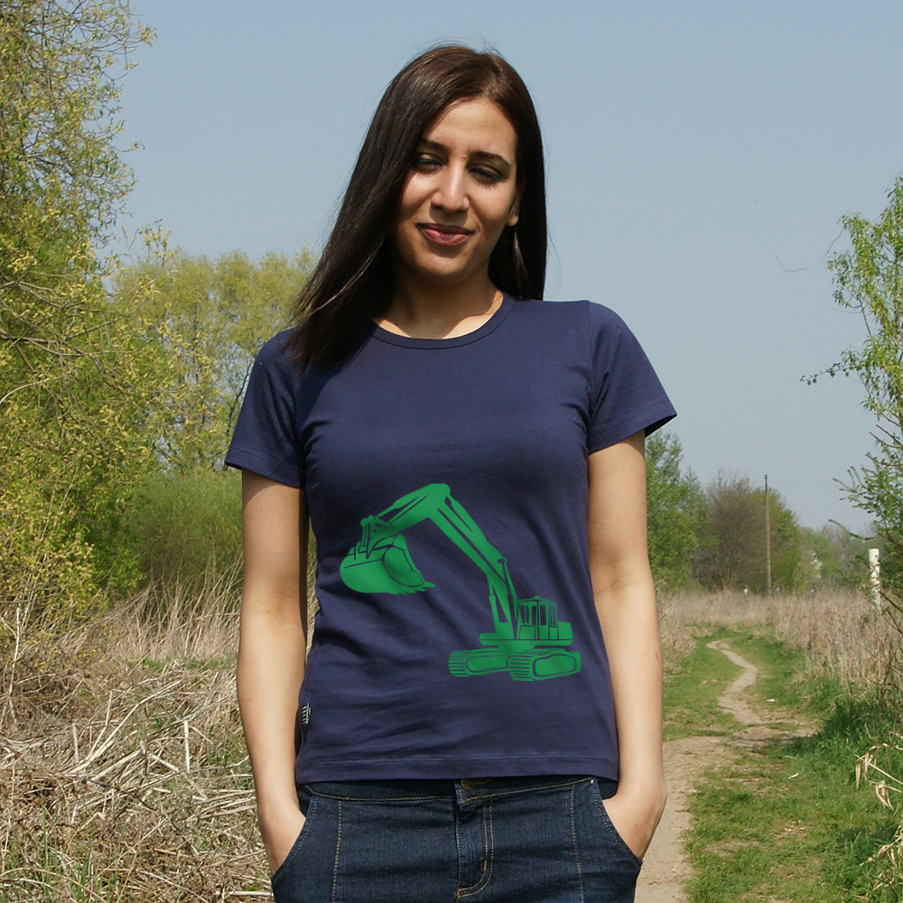 Frauen T-Shirt Bagger