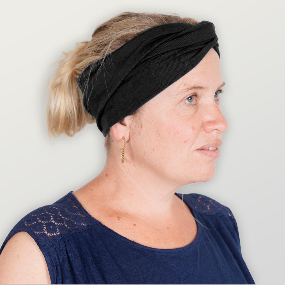 Stirnband Twist-Knoten Erwachsene