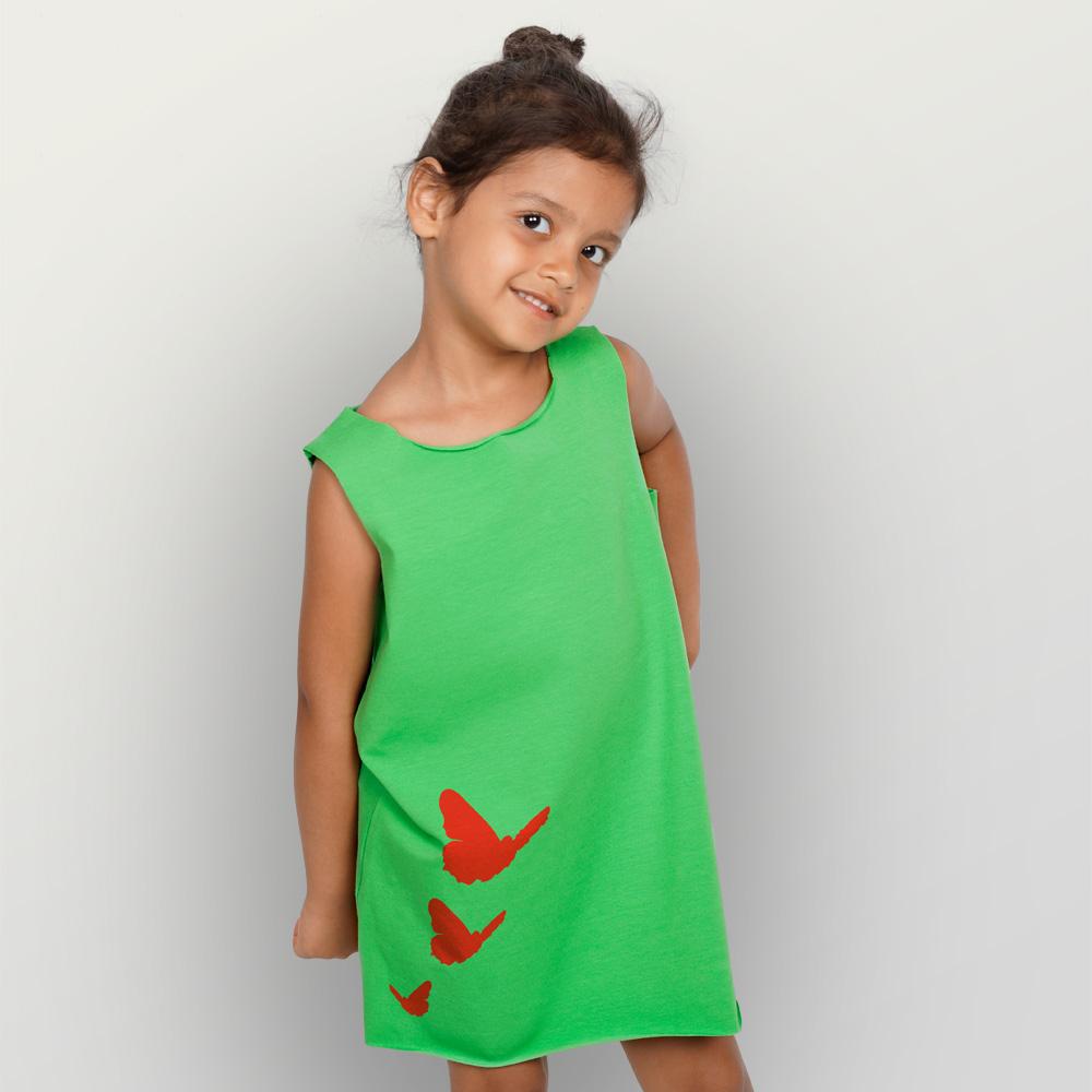 Bio-Kleid Schmetterlinge