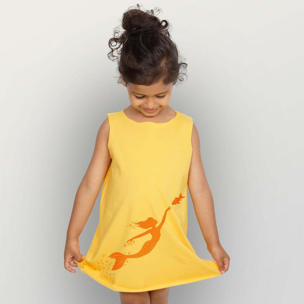 Bio-Kleid Meerjungfrau