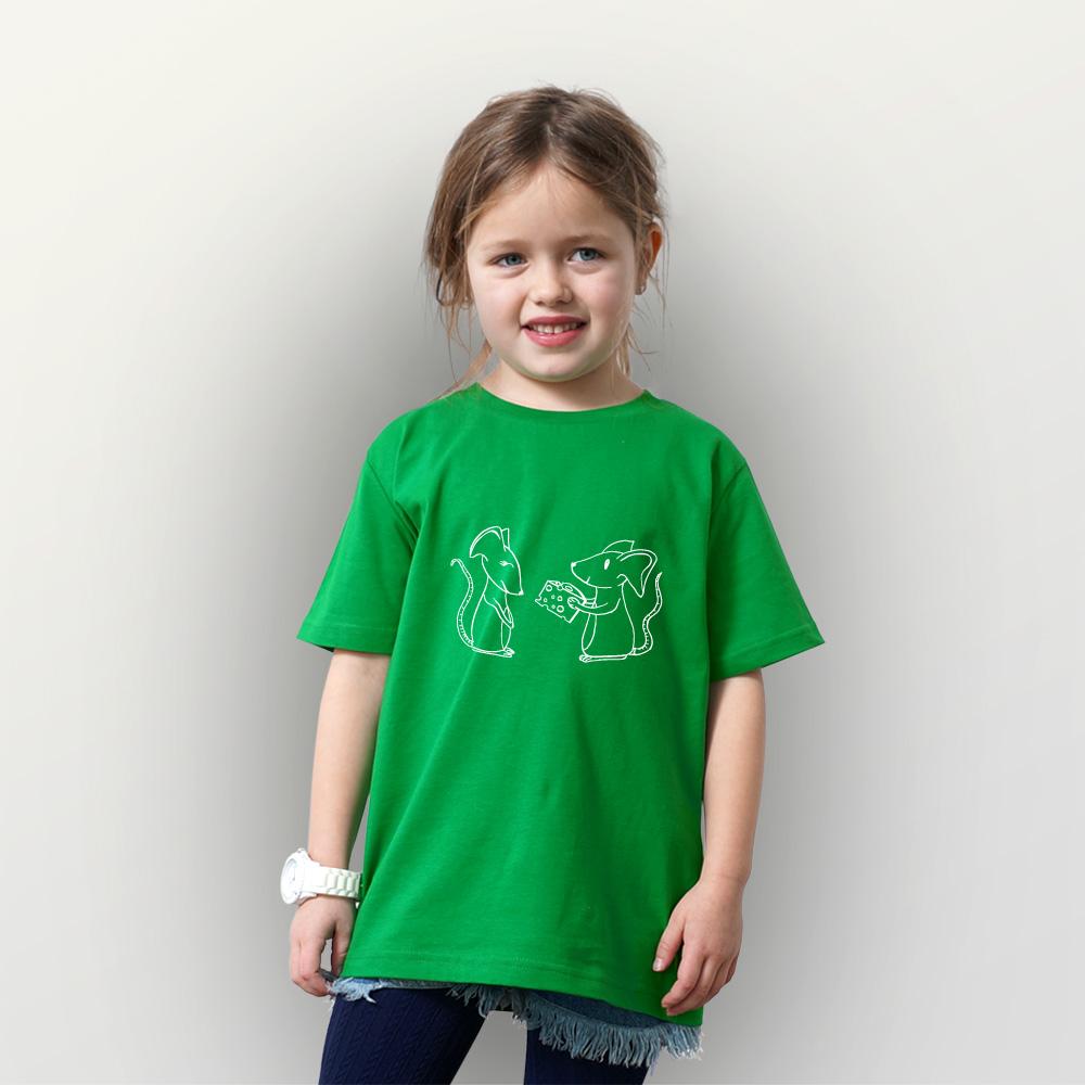 Kinder T-Shirt Liebkäsen