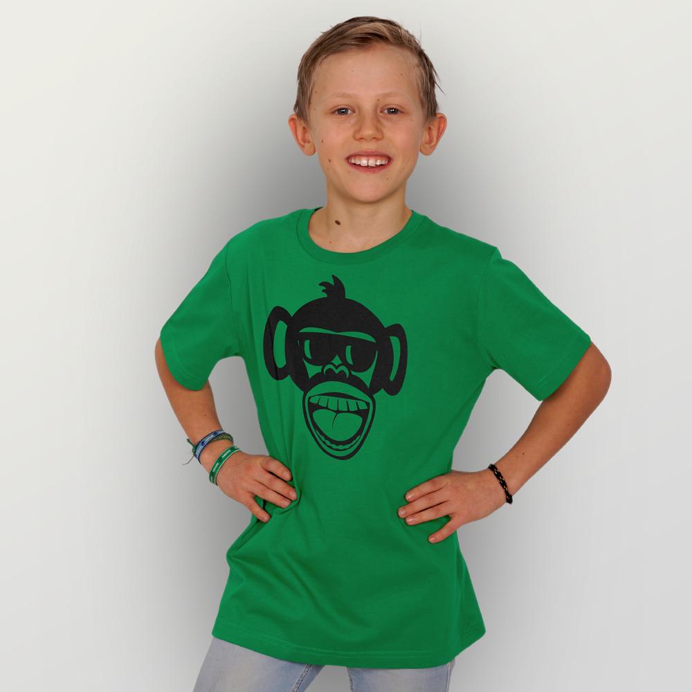 Kinder T-Shirt Affe