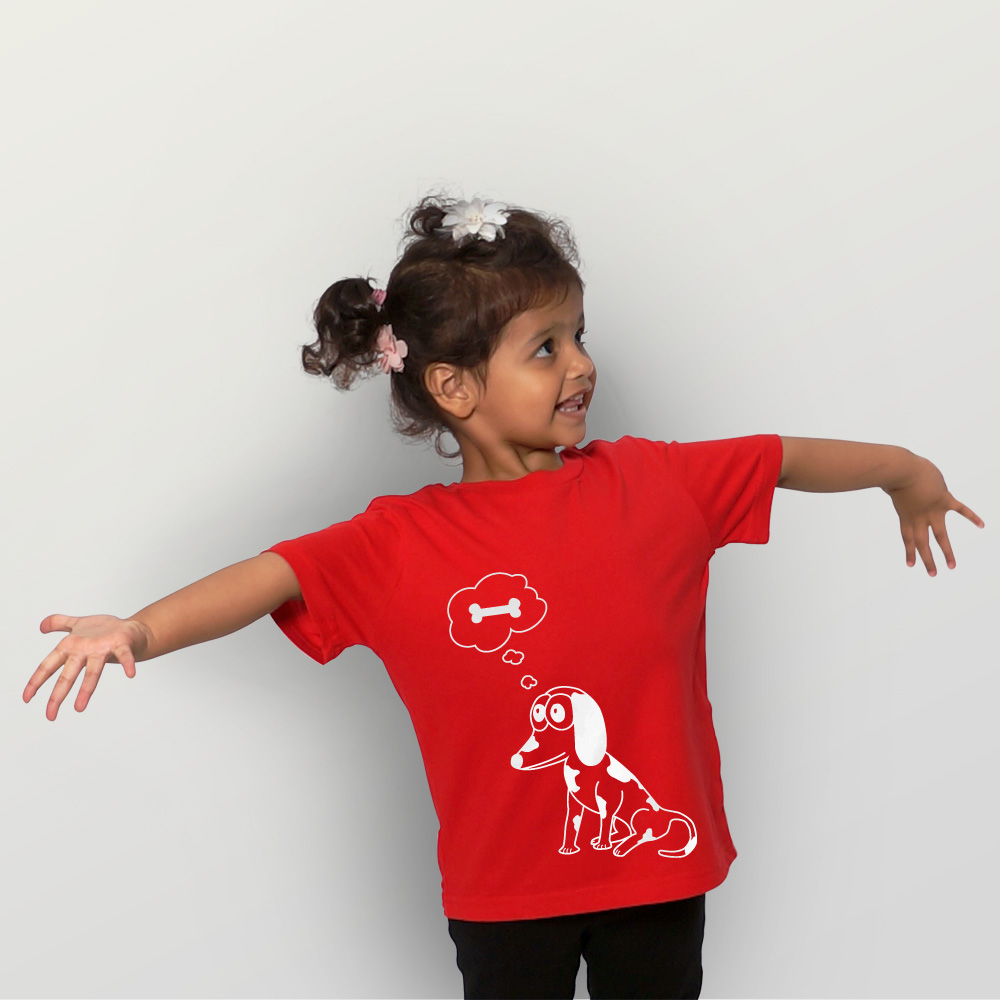 Kinder T-Shirt Basta der Hund