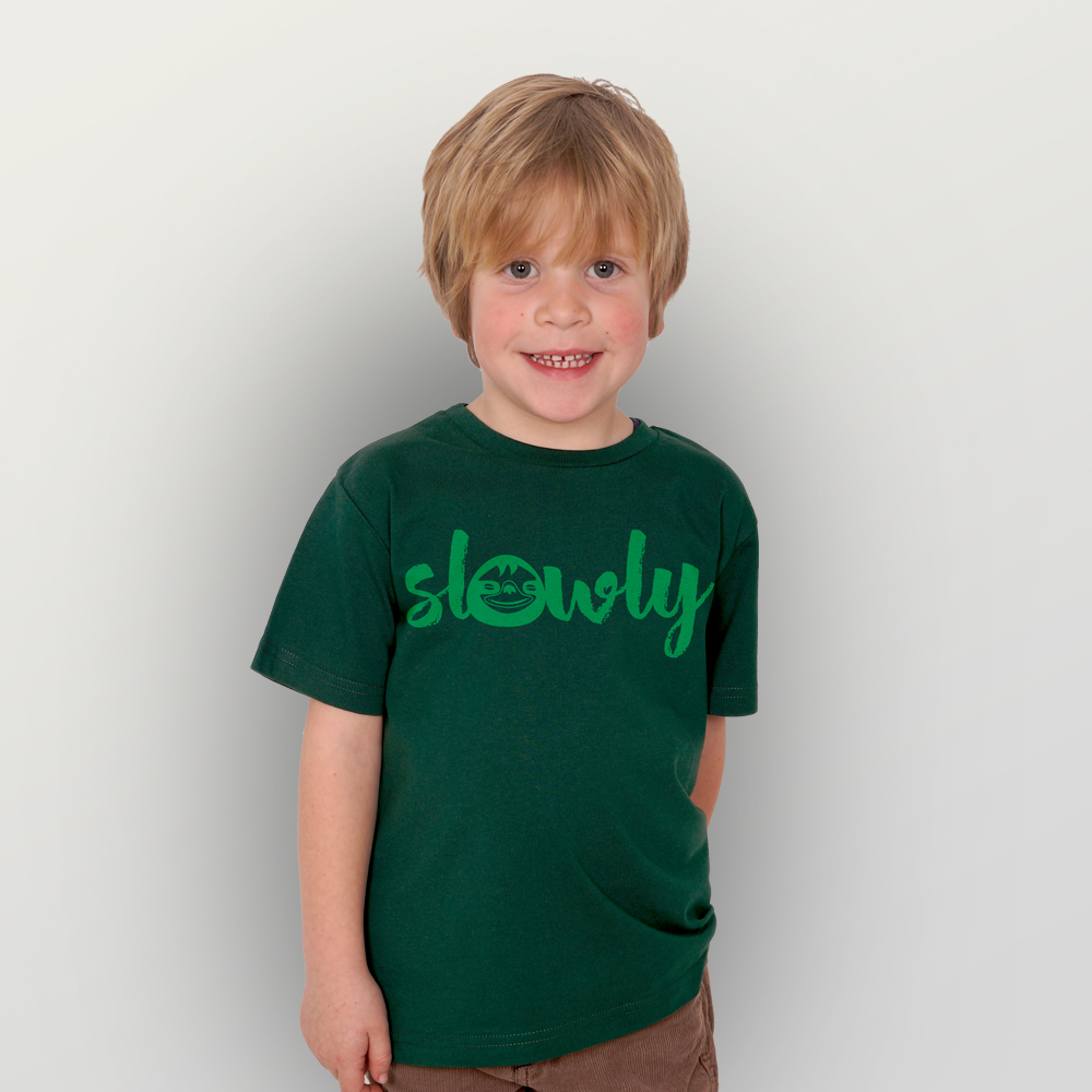 Kinder T-Shirt Slowly