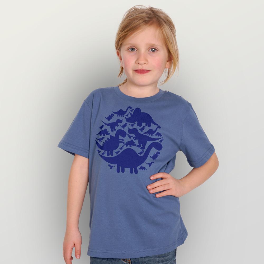Kinder T-Shirt Dinos