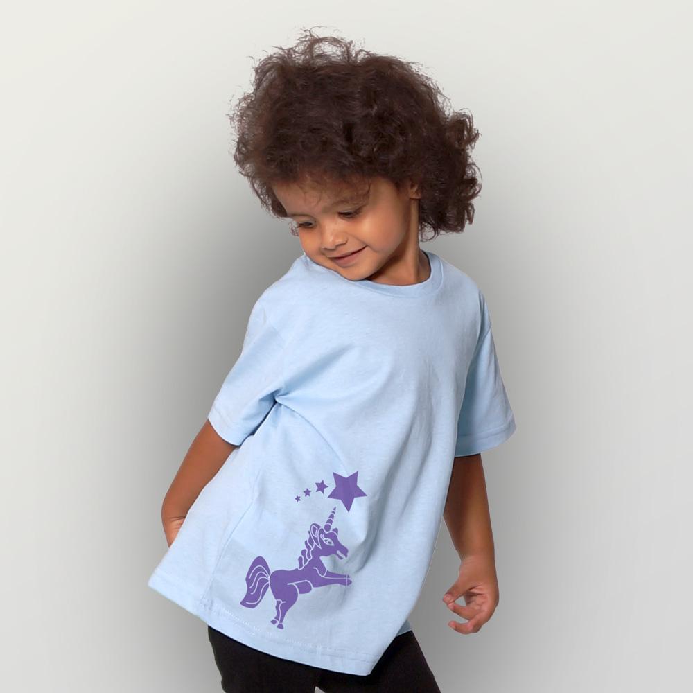 Kinder T-Shirt Einhorn