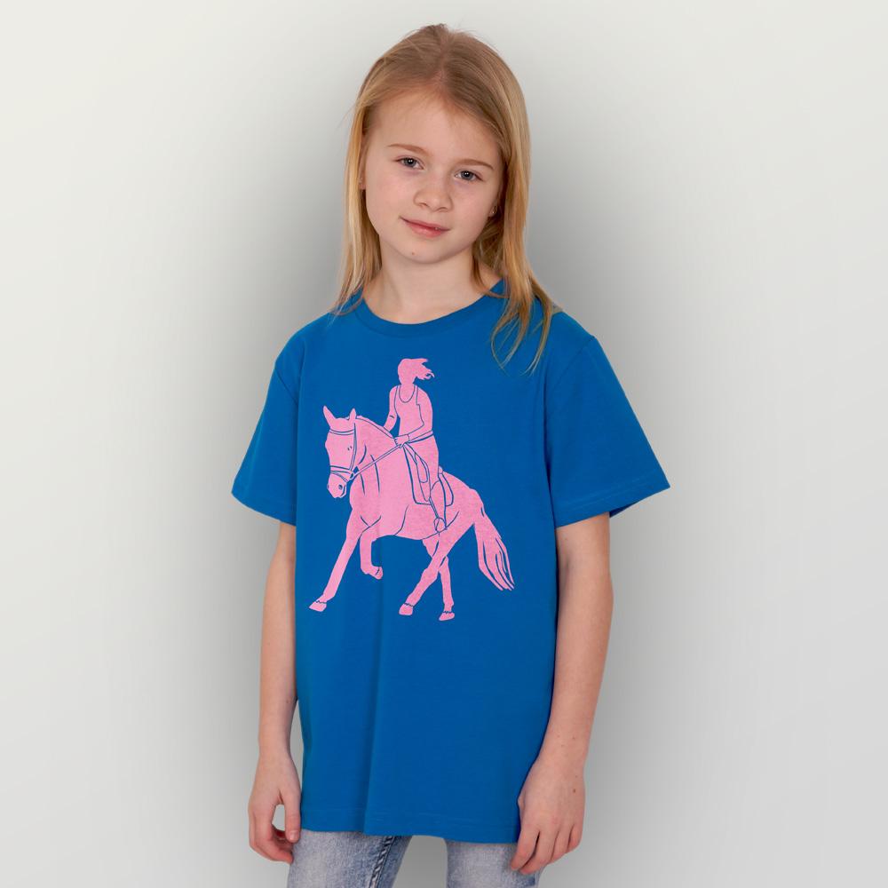 Kinder T-Shirt Galopp