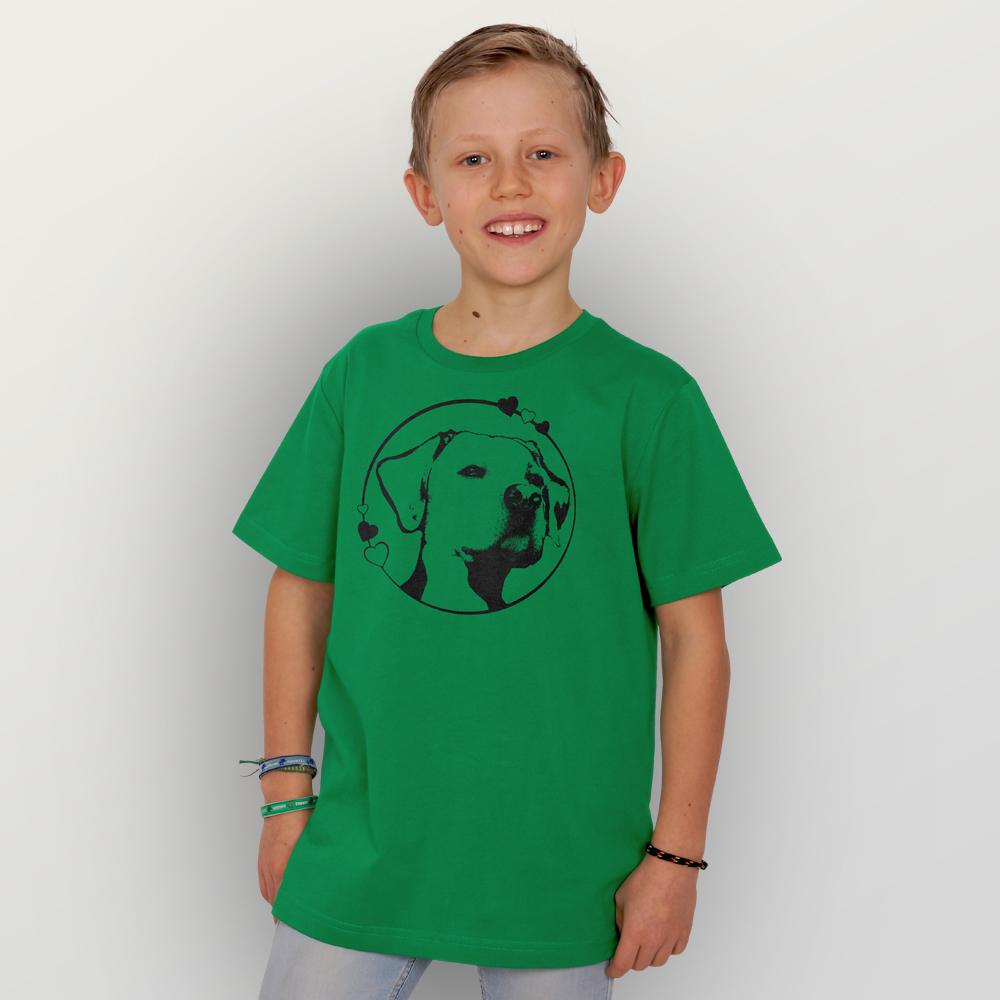 Kinder T-Shirt Hundeliebe