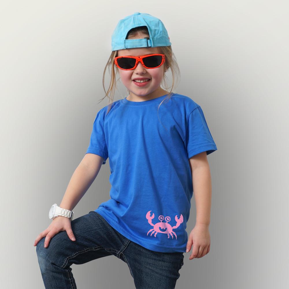 Kinder T-Shirt Krabbenwanderung