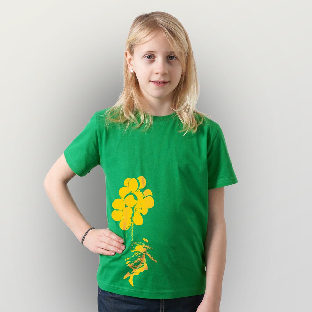 Kinder T-Shirt Luftballons