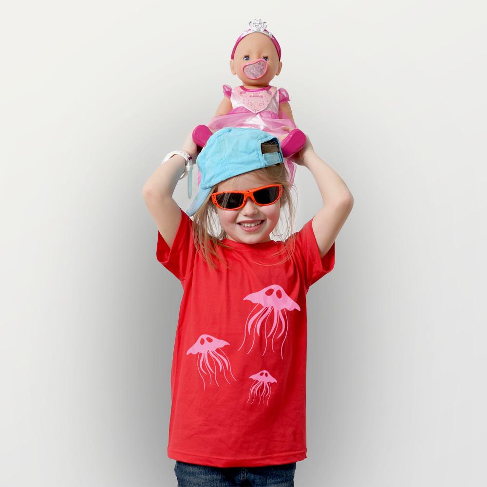 Kinder T-Shirt Quallen
