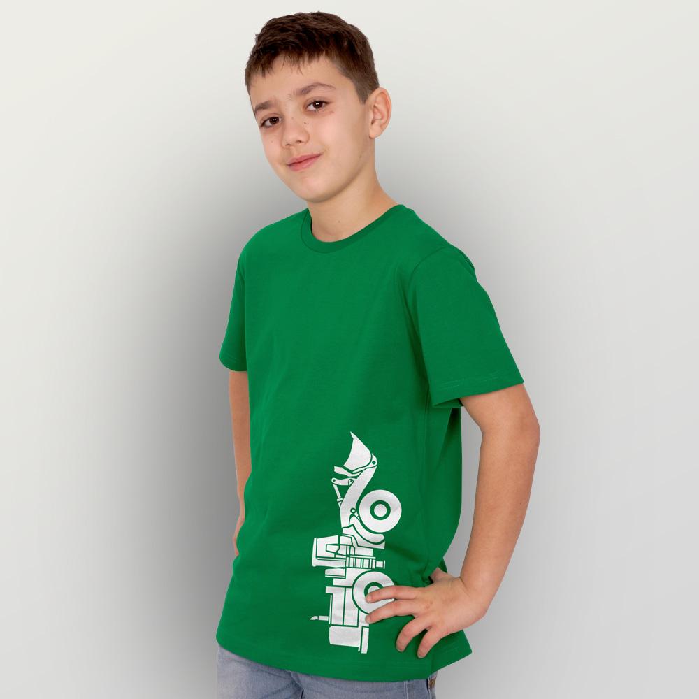 Kinder T-Shirt Radlader02