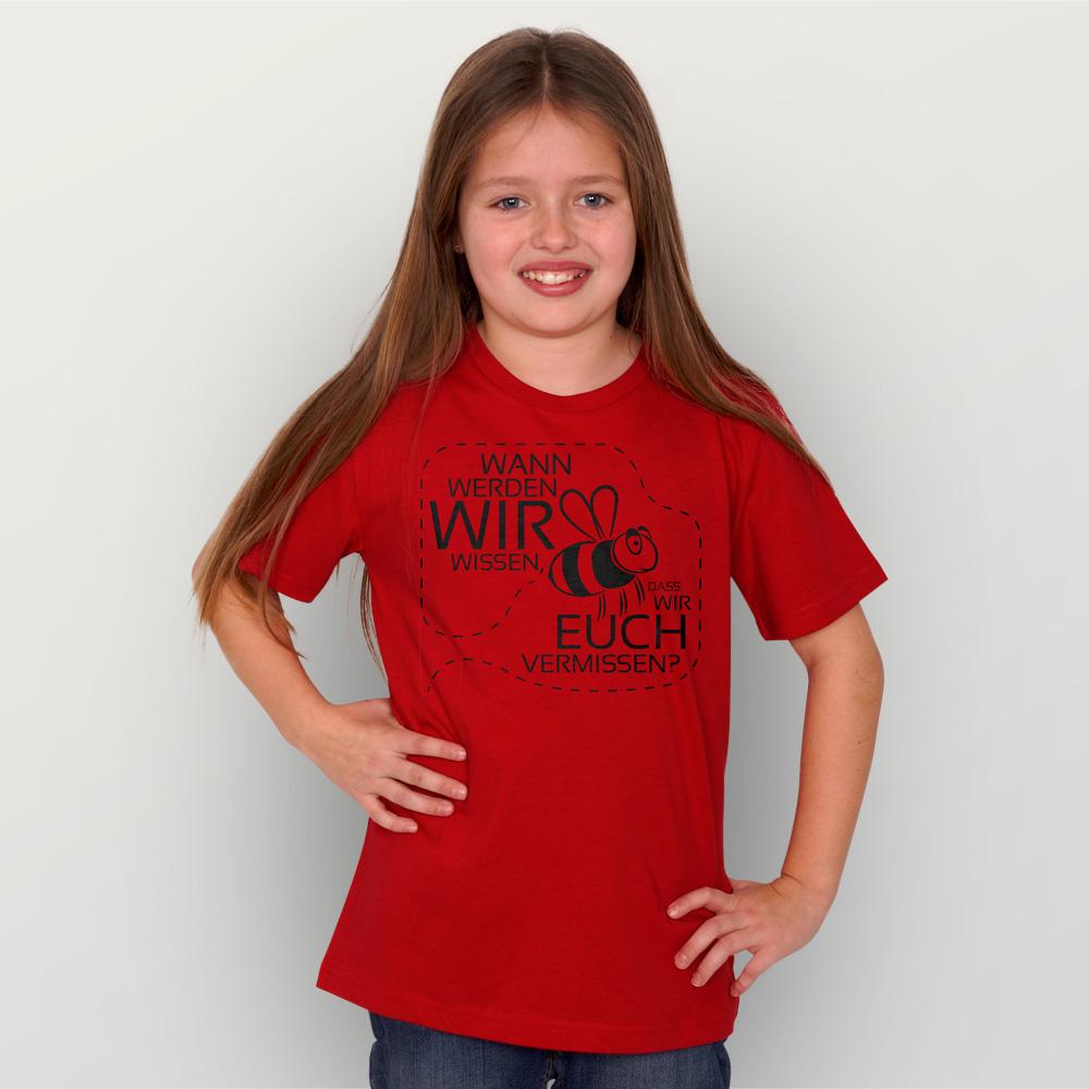 Kinder T-Shirt Vermissen