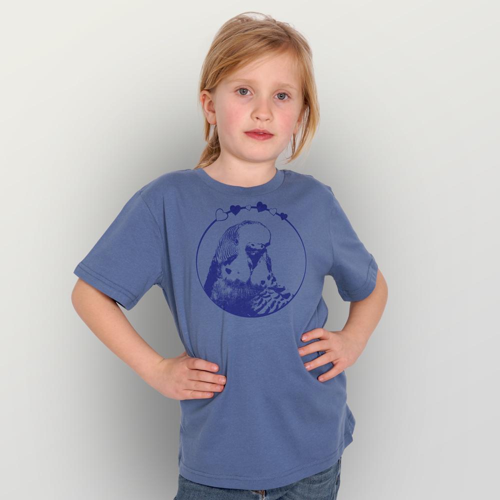 Kinder T-Shirt Vogelliebe