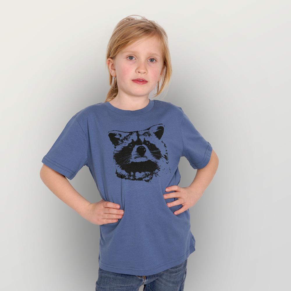 Kinder T-Shirt Waschbär