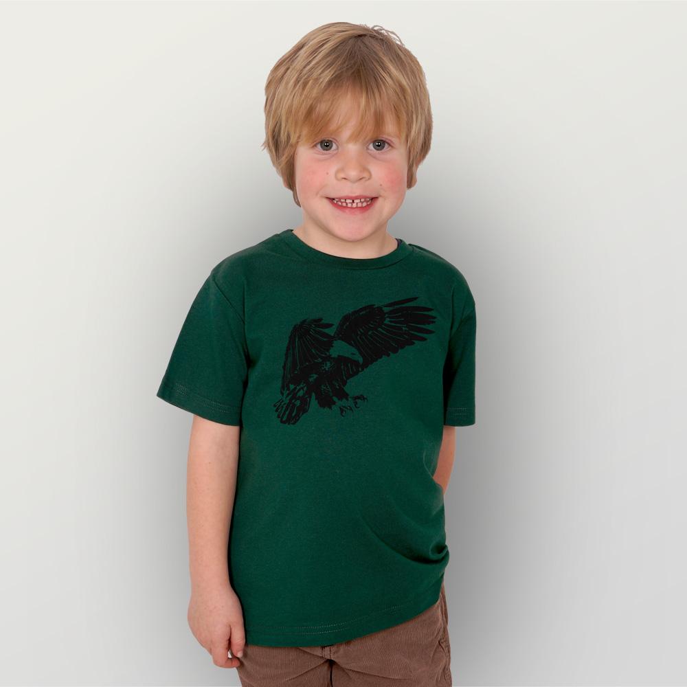 Kinder T-Shirt Weißkopfseeadler