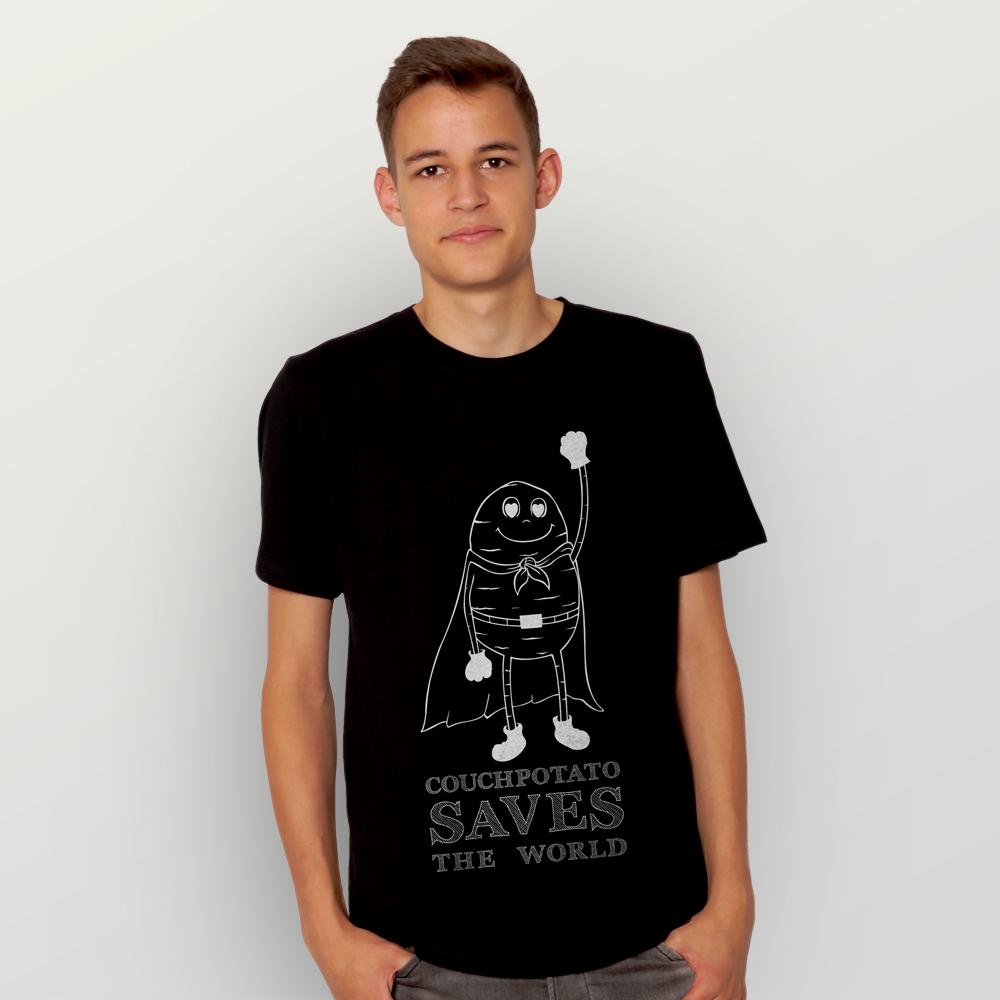 Männer T-Shirt Couchpotato