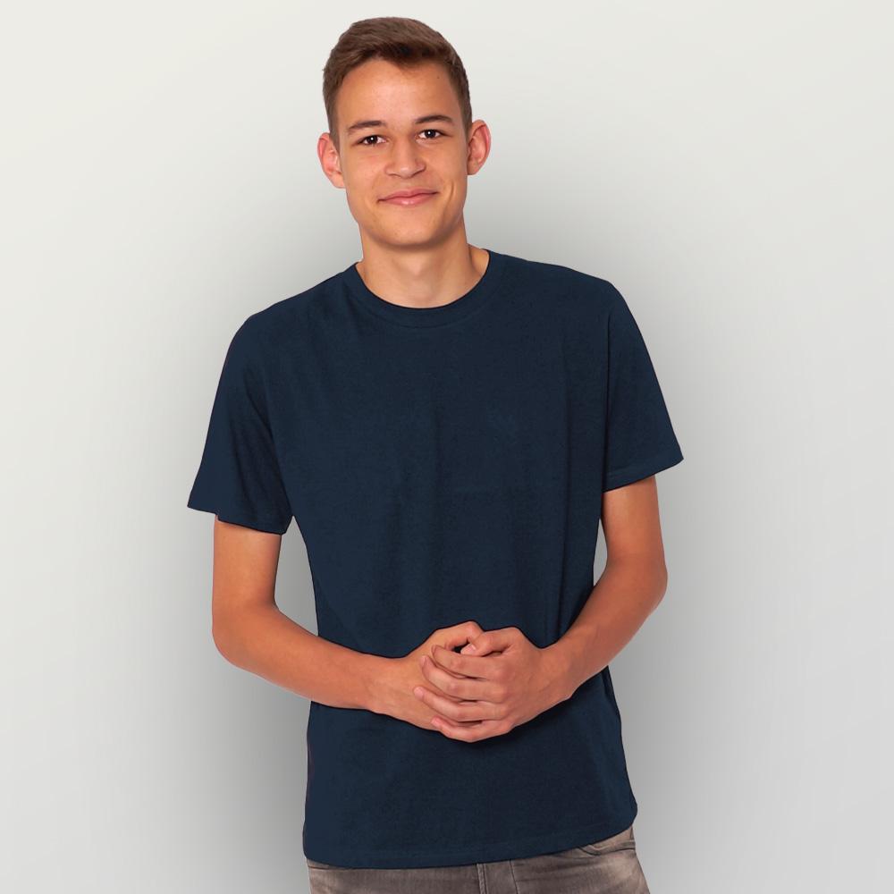 Männer T-Shirt Unbedruckt