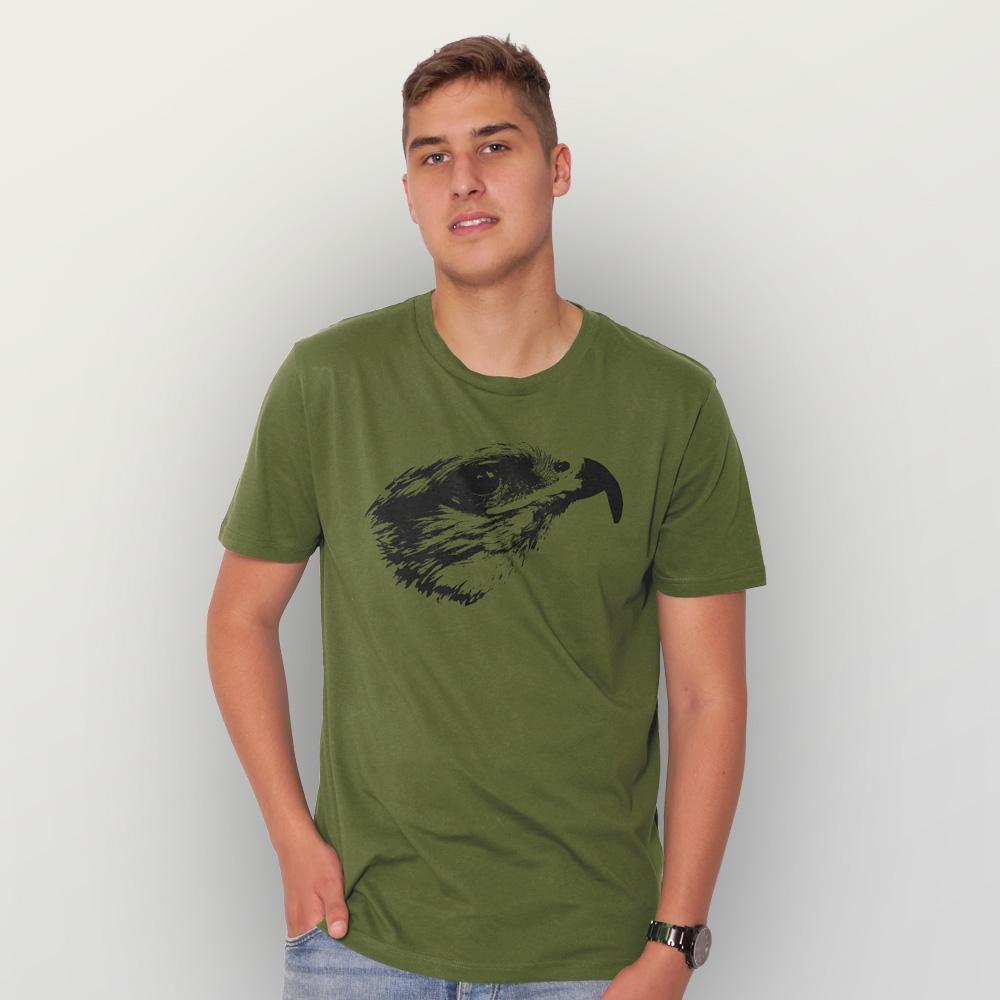 Männer T-Shirt Falke