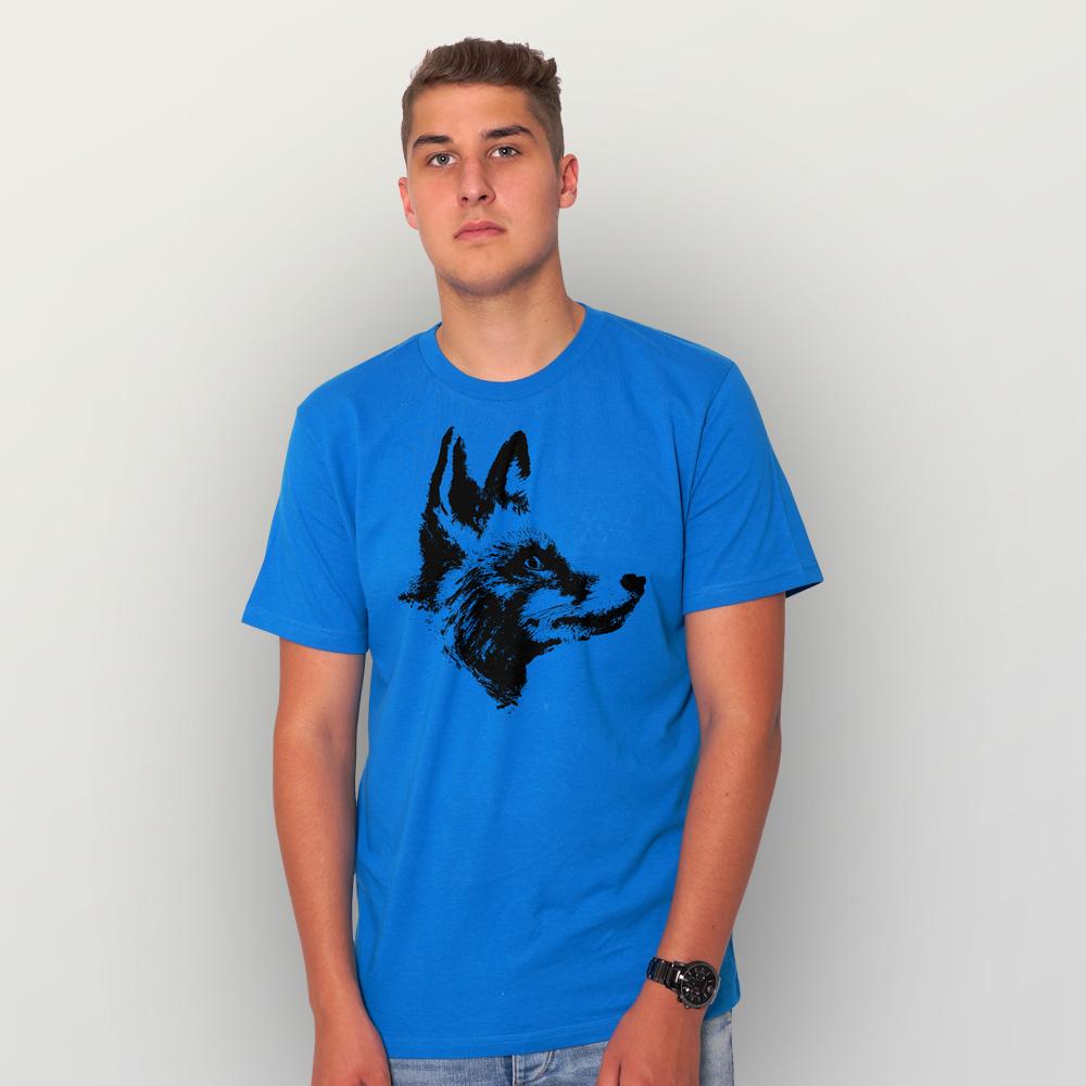 Männer T-Shirt Fuchs