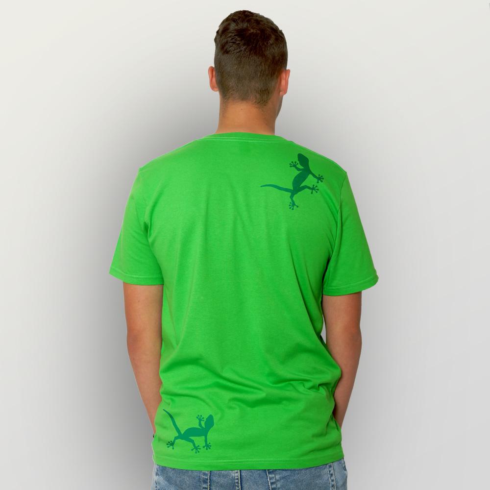Männer T-Shirt Geckos