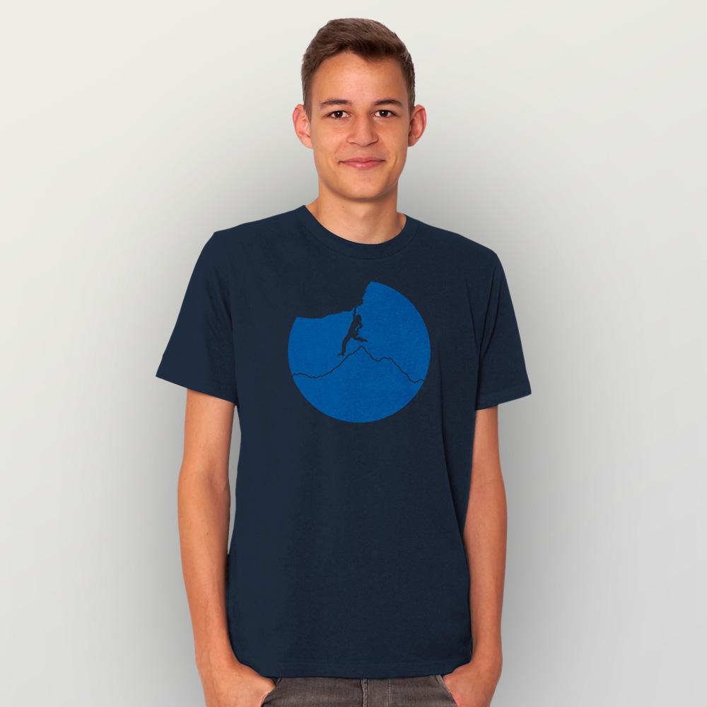 Männer T-Shirt Klettern