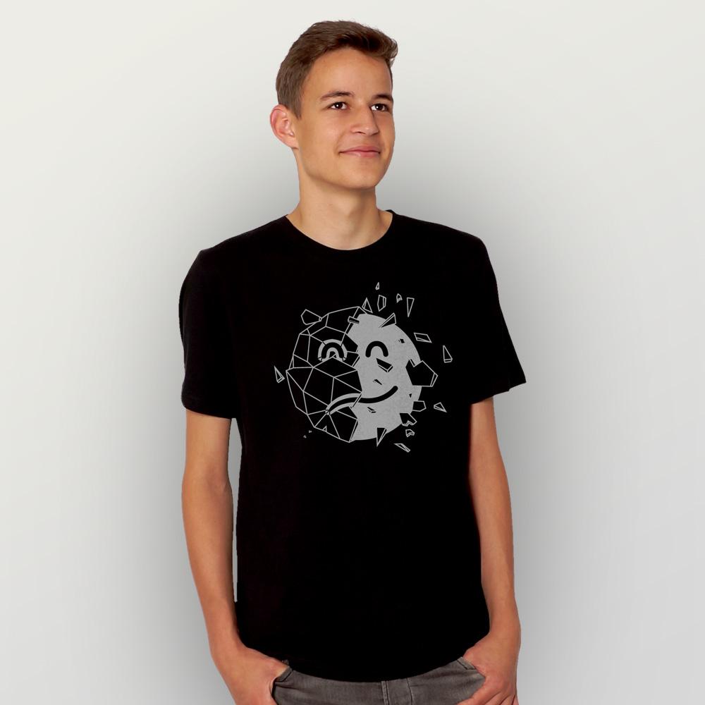 Männer T-Shirt Sei optimistisch