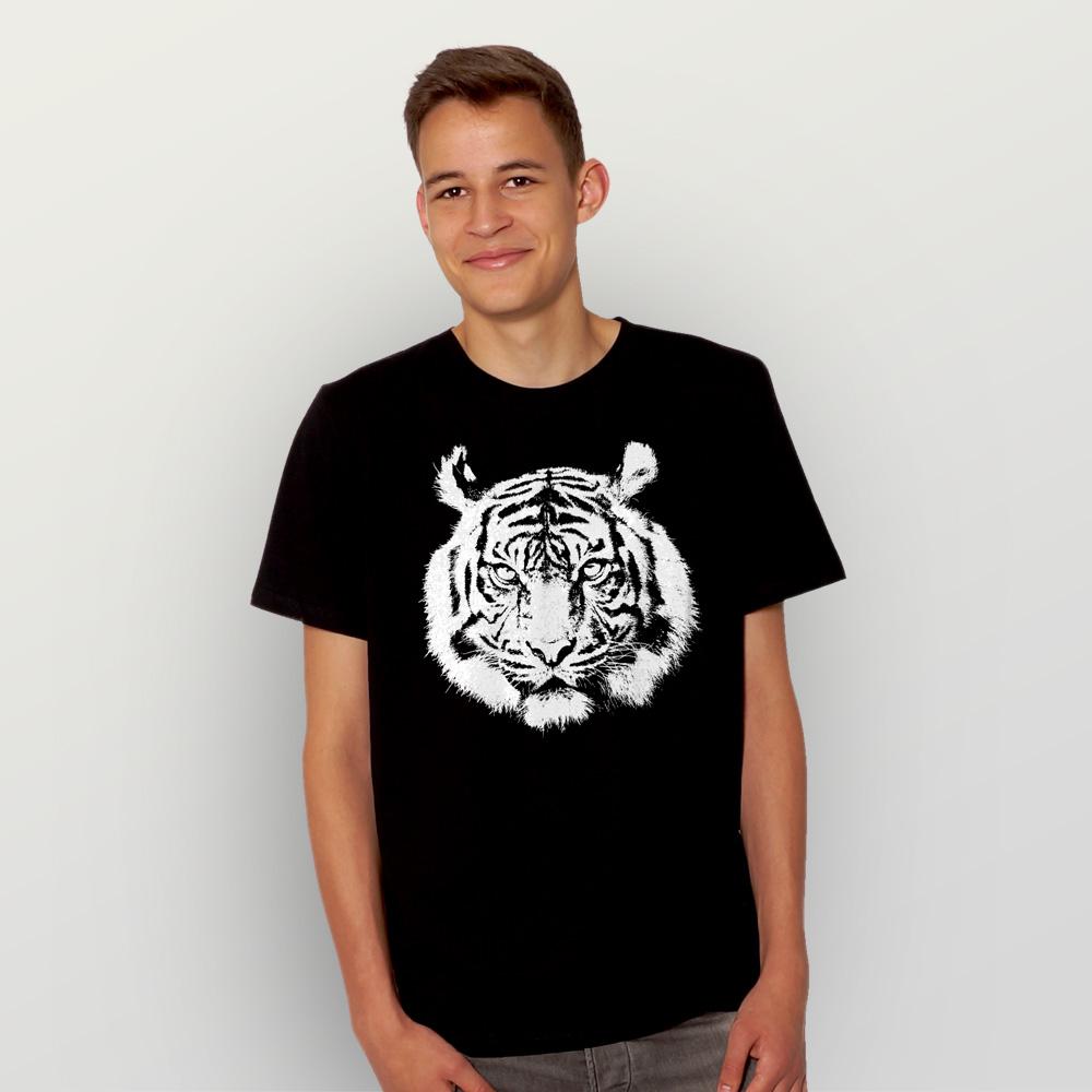 Männer T-Shirt Tiger