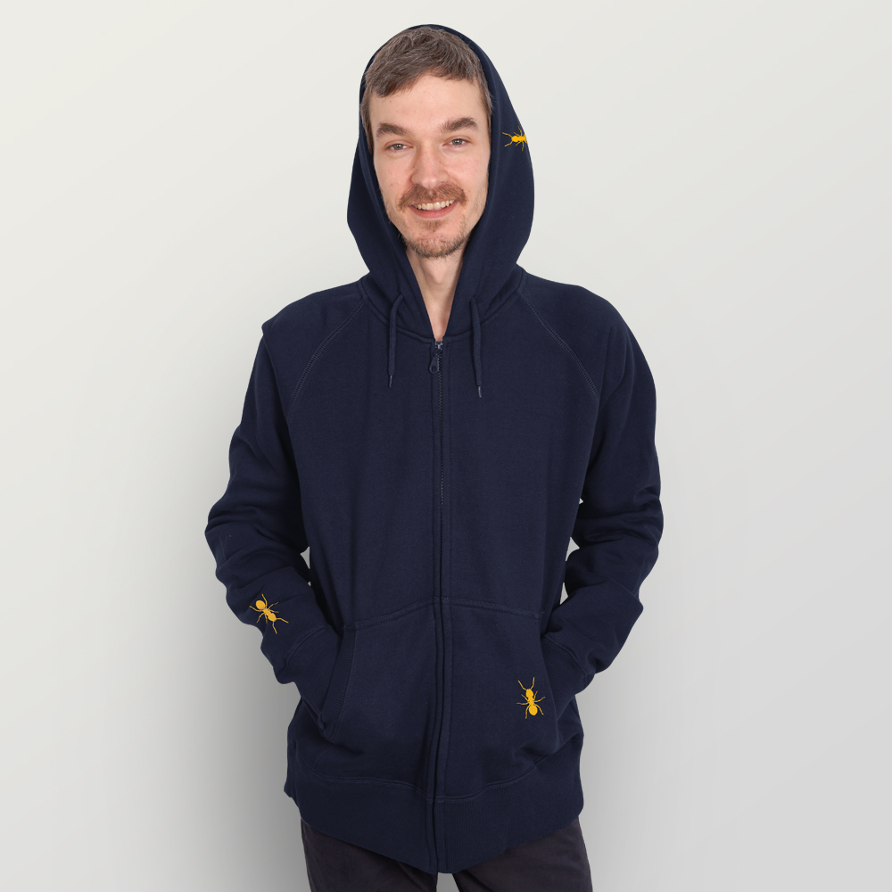 Männer Zip-Hoody Ameisen