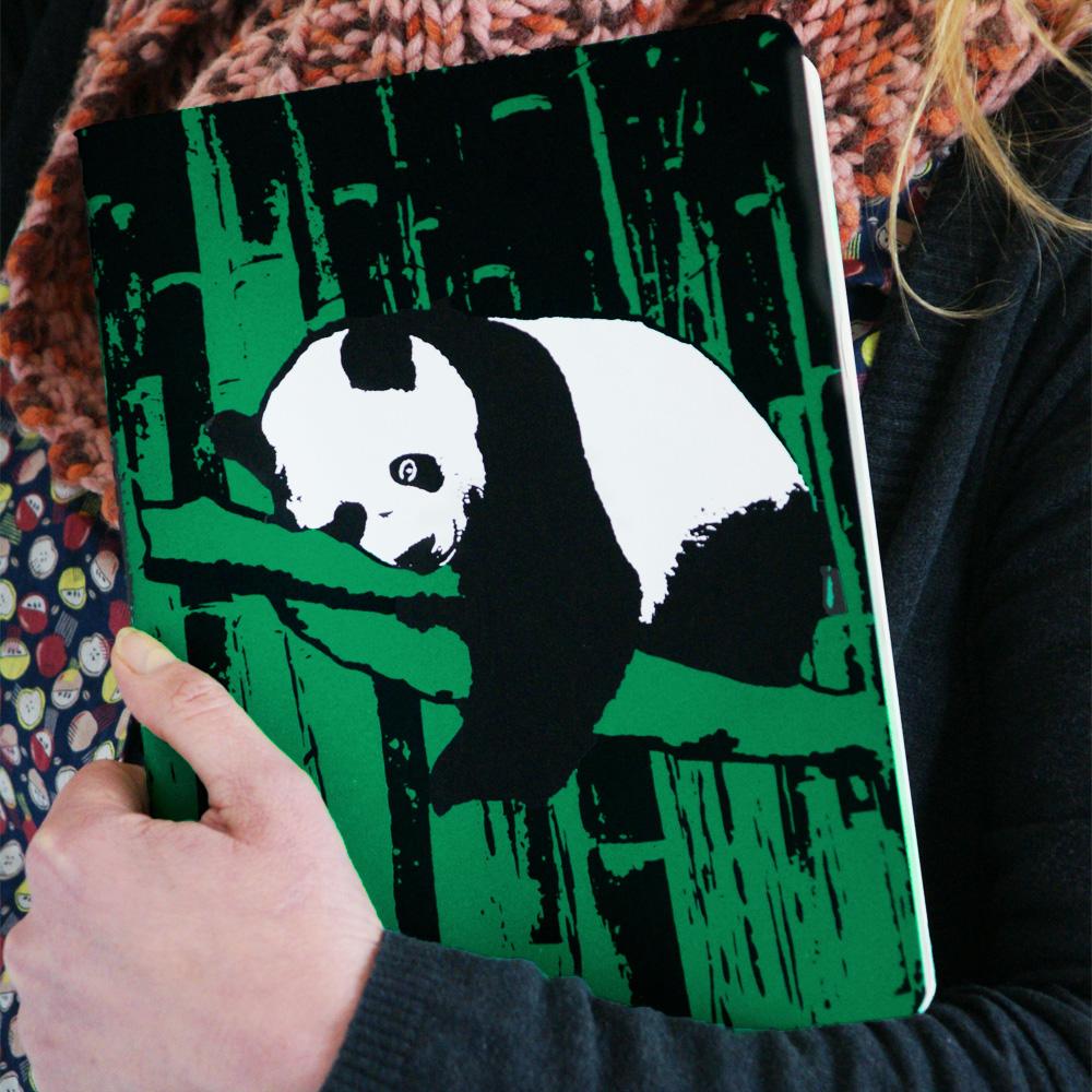 Notizheft Panda Ningmi