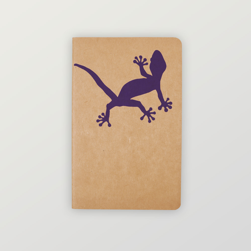 Notizheft Gecko
