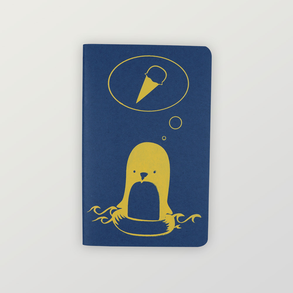 Notizheft Pinguin