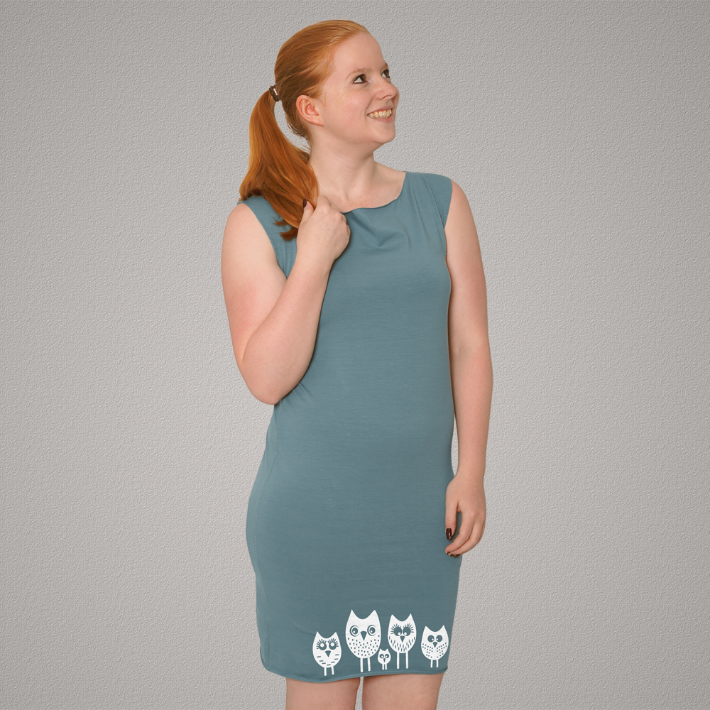 Bio-Kleidchen 5 kleine Eulen